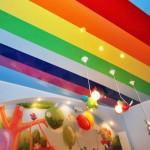 Цветные натяжные потолки в Могилеве