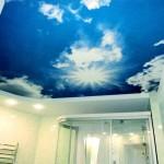 натяжные потолоки Могилев фотопечать облака