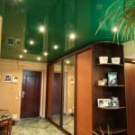 Зелёный натяжной потолок Могилев