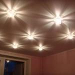 Светильники. Натяжные потолки в Могилёве